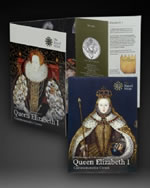 2008 Elizabeth I Anniversary Crown Presentation Folder