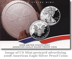 The Mint sends out e-mails and post card announcement for many of its popular products