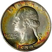1932-D Washington Quarter