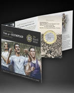 The special 2008 4th Olympiad London Anniversary £2 Presentation Folder