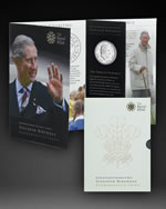 The special 2008 Prince of Wales 60th Birthday Crown Presentation Folder