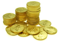 Silver, gold and other bullion coins