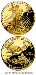 2008 American Eagle Gold Proof Coin