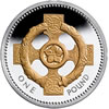 25th Anniversary £1 Celtic Cross