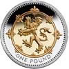 25th Anniversary £1 Silver Lion Rampant