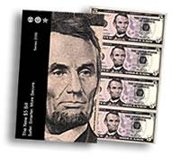 $5 Uncut Currency Sheet