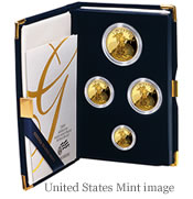American Eagle Gold Proof 4-coin set