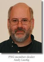 PNG member-dealer Andy Lustig