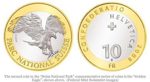 Swissmint Golde Eagle Commemorative Coin