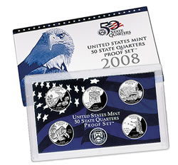 2008 U.S. Mint Quarter Proof Set