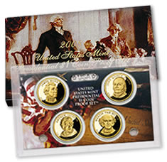 2008 Presidential $1 Dollar Coin Proof Set