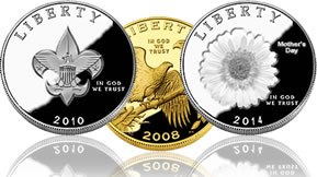 Commemorative coins and legislation