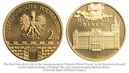 Poland's Bielsko-Biala commemorative coin