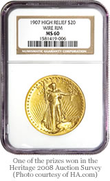 Saint-Gaudens $20 gold coin