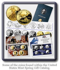 United States Mint Spring Catalog Coins