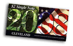 2008 Cleveland First Day $2 Single Notes