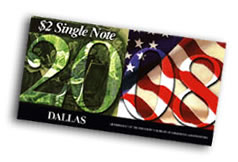 2008 Chicago First Day $2 Single Notes
