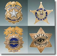 Historic American Law Badges