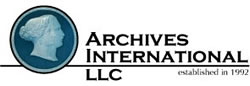 Archives International logo