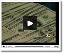 Video of counterfeit bills made in Lawndale, California