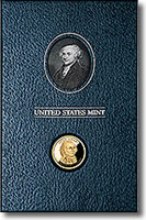 John Adams Presidential $1 Coin Historical Signature Set