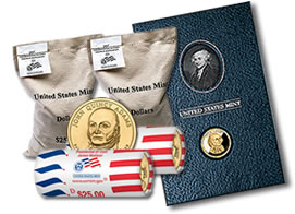 US Mint Presidential $1 Coin Products in May