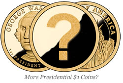 Question in Presidential $1 Coin