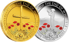 90th Anniversary of the End of World War I 1918-2008