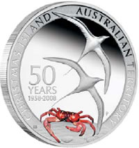 Christmas Island 1oz Silver Proof Coins