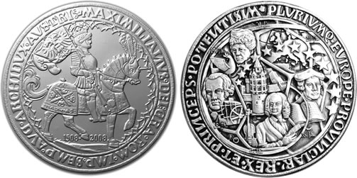 World S Largest Silver Coin From Austria The Europe Taler