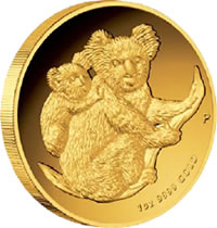 First Australian Koala Proof Coin Series