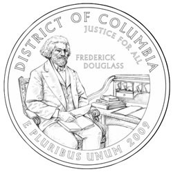 Frederick Douglass Washington D.C. Quarter Design Candidate