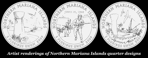 Northern Mariana Islands Commemorative Quarter Finalist Designs