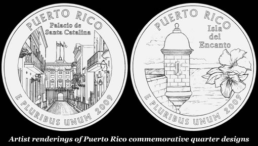 Puerto Rico Commemorative Quarter Finalist Designs