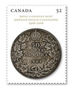 Royal Canadian Mint Stamp