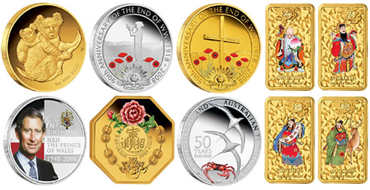 The Perth Mint: New 2008 Coins