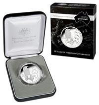 2008 $5 Norther Territory Silver Coin and Case