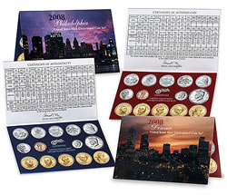2008 United Statest Mint Uncirculated Coin Set®