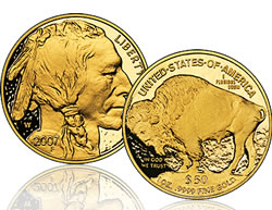 American Buffalo gold coin