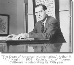 Art Kagin in 1938