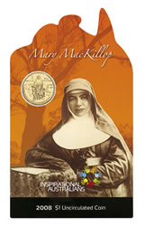 Mary MacKillop card