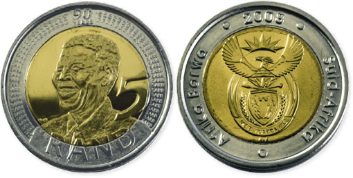 Nelson Mandela 90th Birthday Coin