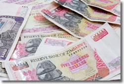 Zimbabwe money