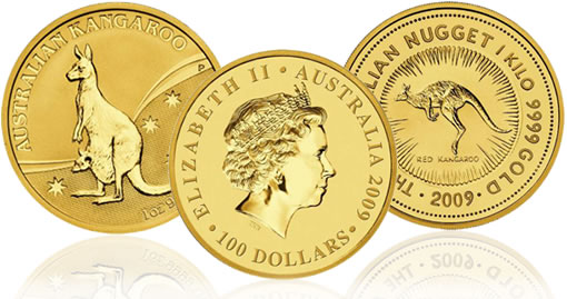 2009 Australian Kangaroo Gold Coins