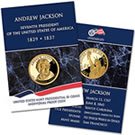 Andrew Jackson Individual Proof $1 Coins