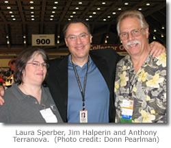 Laura Sperber, Jim Halperin and Anthony Terranova.