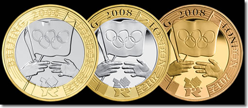 2008 Olympic Games Handover Coins