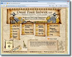 Daniel Frank Sedwick, LLC website image