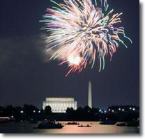 Lincoln Memorial celebration
