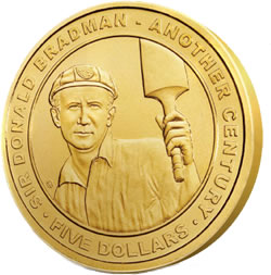 Sir Donald Bradman Commemorative Coin